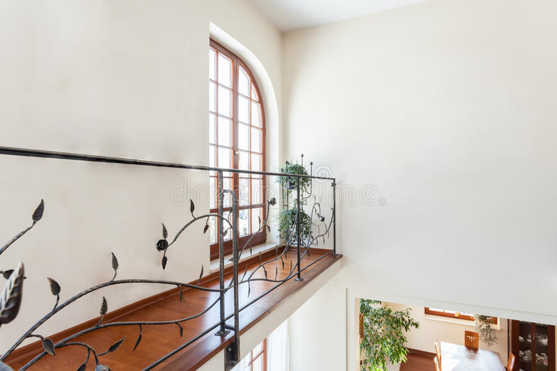 Classy house - Banister stock images