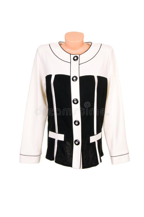 Download Classy,stylish Blouse On A White. Royalty Free Stock Photo - Image: 13416035