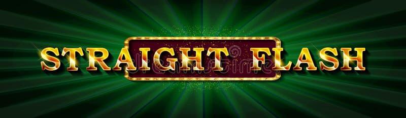 ?clat droit Casino en ligne de tisonnier d'illustration illustration libre de droits