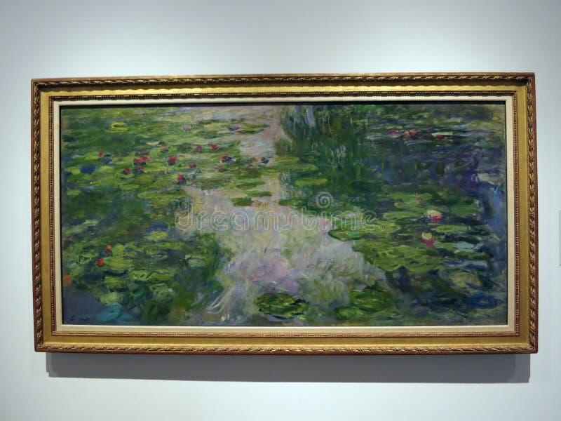 Claude Monet, Water Lillies, 1917/1919 stock foto