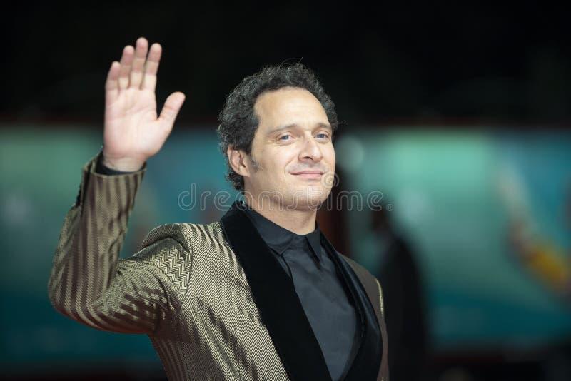Claudio Santamaria walks the red carpet royalty free stock photo