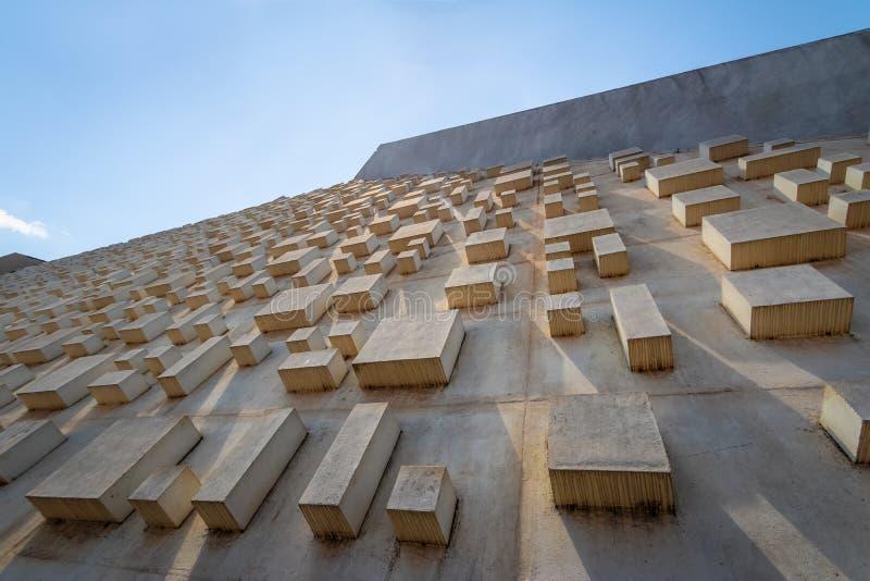 Claudio Santoro Krajowy teatr - Brasilia, Distrito Federacyjny, Brazylia fotografia royalty free