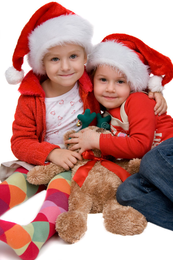 claus żartuje Santa fotografia royalty free