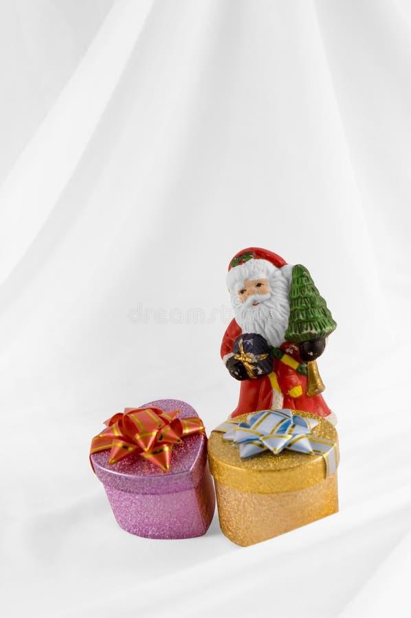 Claus παρουσιάζει το santa στοκ φωτογραφία με δικαίωμα ελεύθερης χρήσης