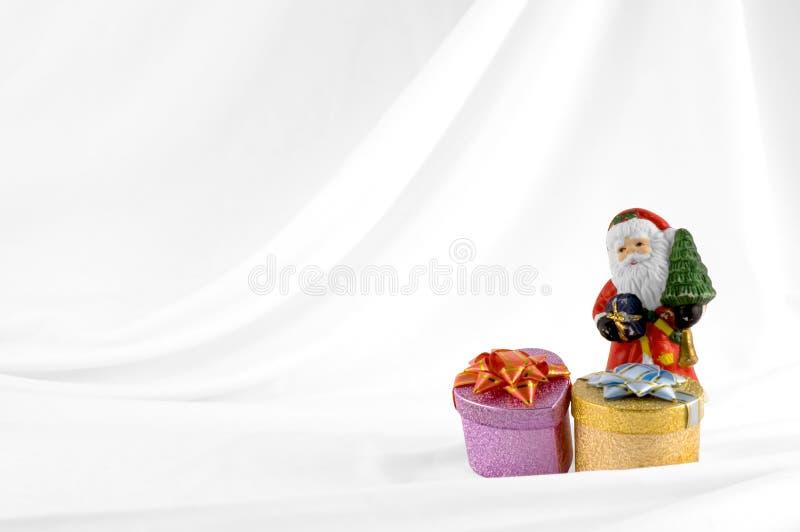 Claus παρουσιάζει το santa στοκ εικόνα με δικαίωμα ελεύθερης χρήσης