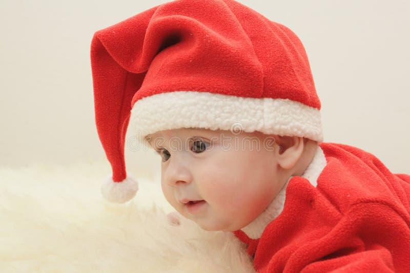 claus маленький santa стоковое изображение