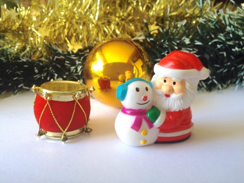 claus bałwan Santa obraz stock