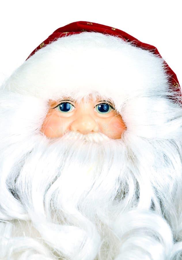 claus closeup santa arkivfoto