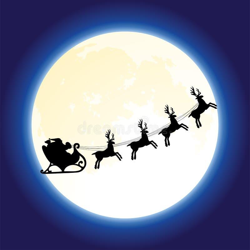 claus deers Santa wektor ilustracja wektor