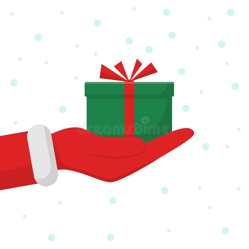 claus gåva santa stock illustrationer