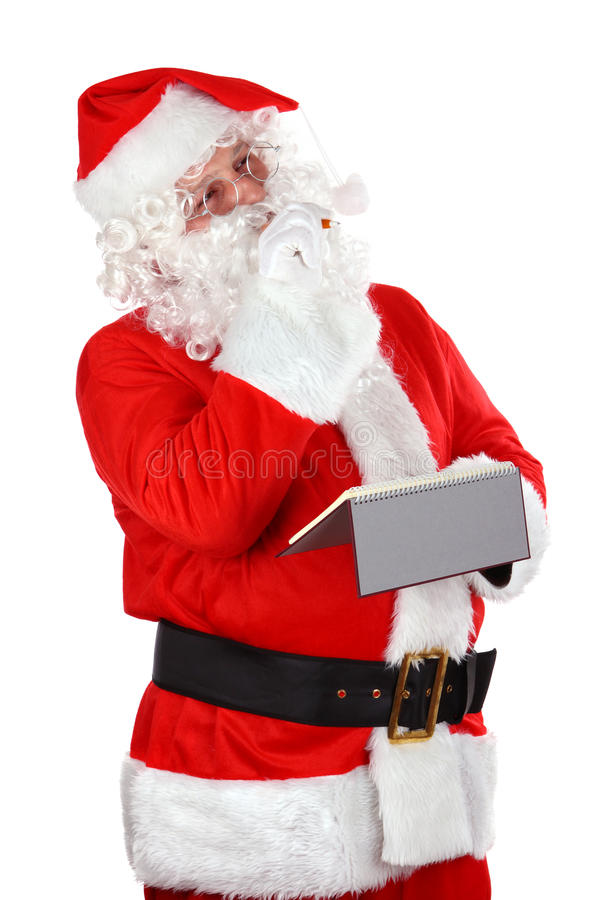 claus główkowanie Santa zdjęcie royalty free