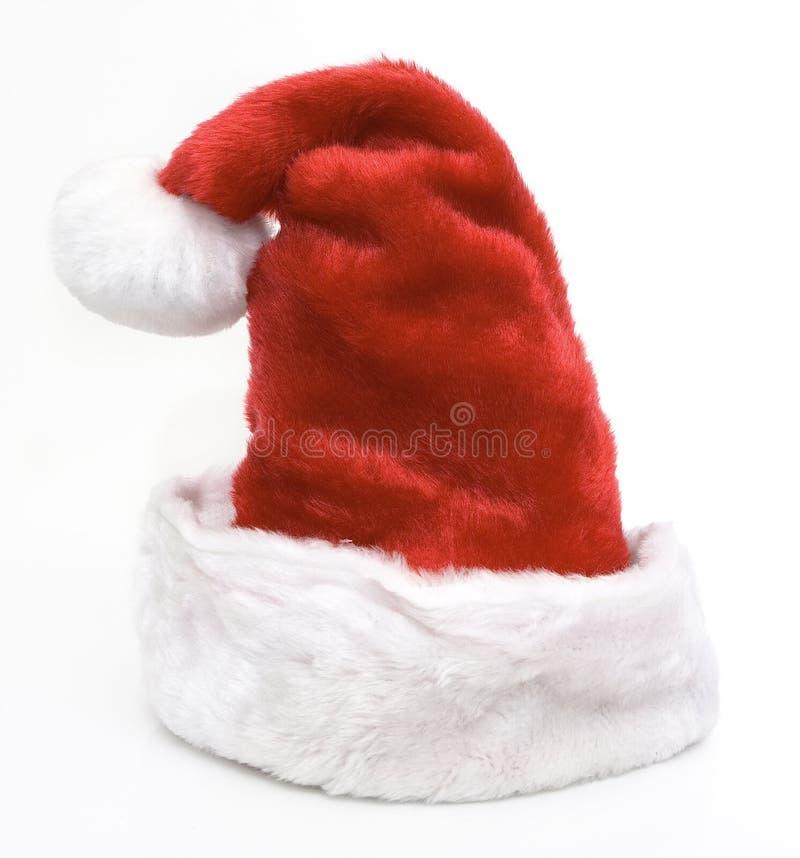 claus hatt santa arkivbild