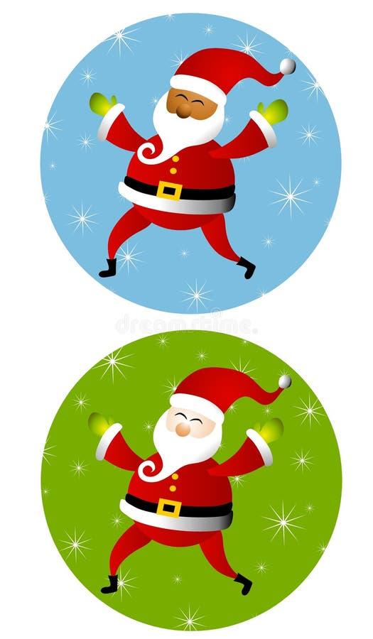 claus ikony ikona Santa obraz stock