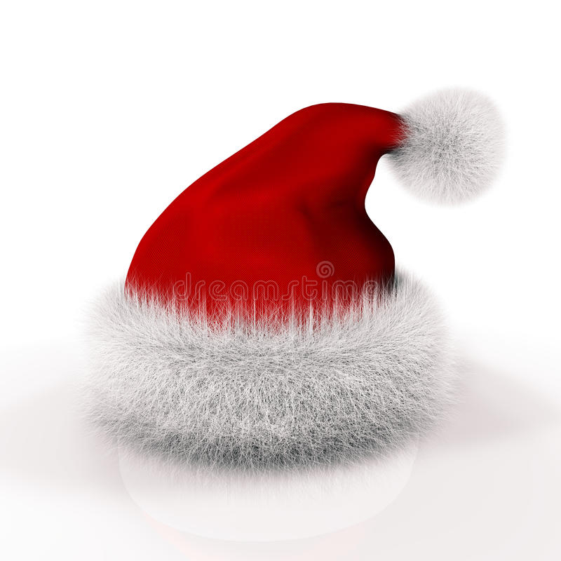 claus kapelusz Santa ilustracja wektor