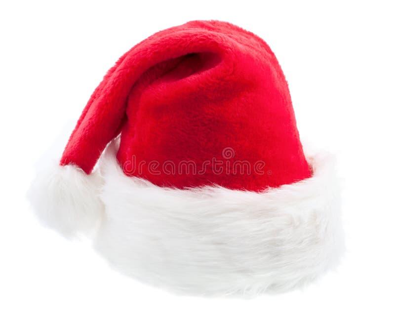 claus kapeluszowy czerwony Santa zdjęcie stock