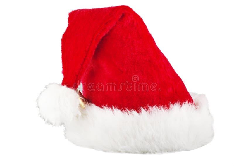 claus kapeluszowy czerwony Santa fotografia royalty free