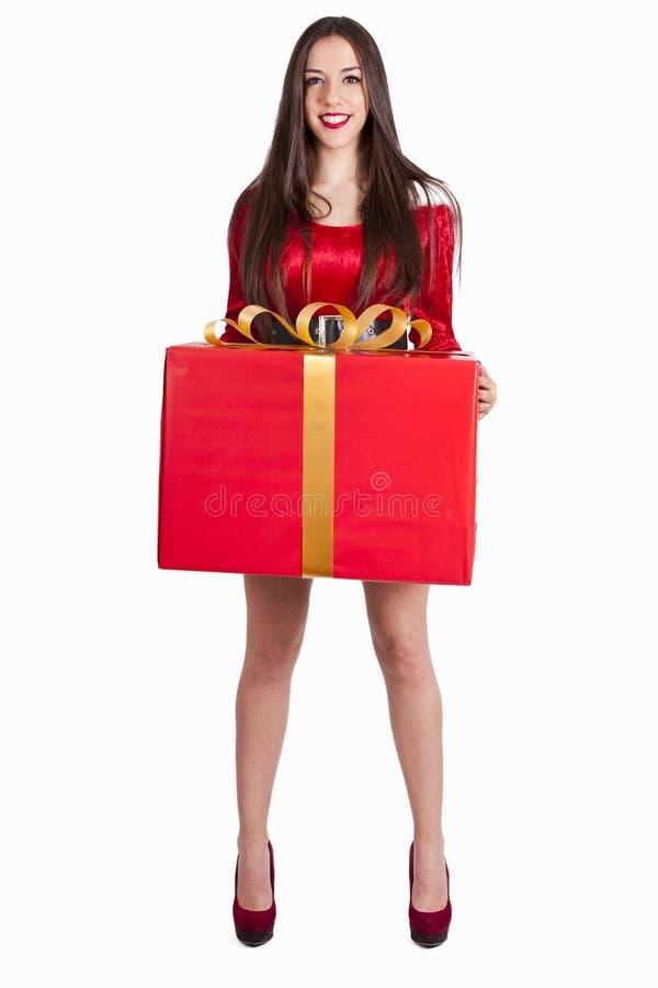claus kobieta Santa obrazy royalty free