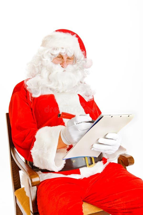 claus listy Santa życzenie obrazy royalty free