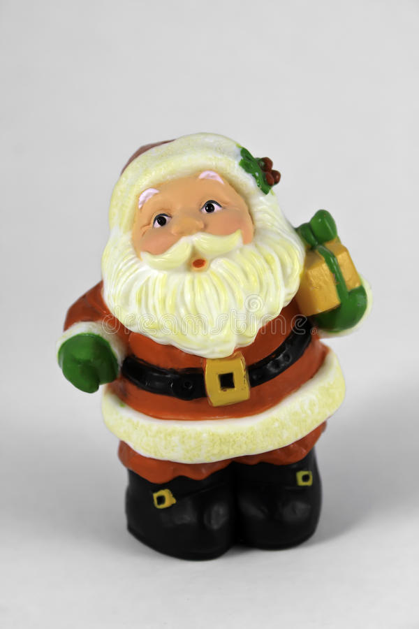 claus prezent Santa zdjęcia stock