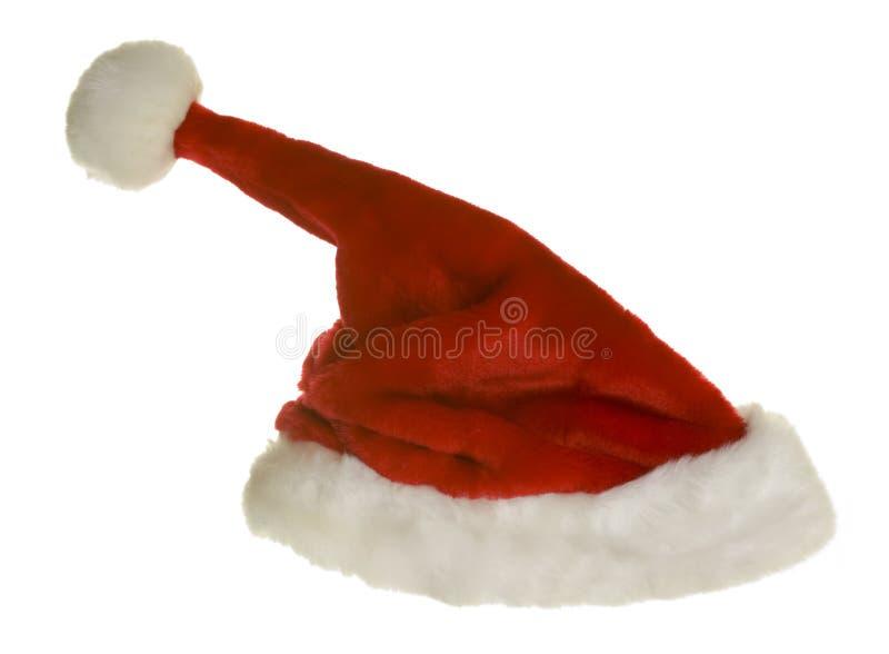 claus przełaz śmieszny kapeluszowy Santa obraz stock