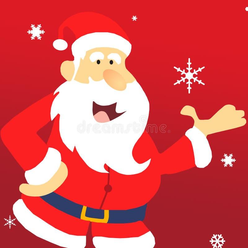 Claus Santa ilustração royalty free