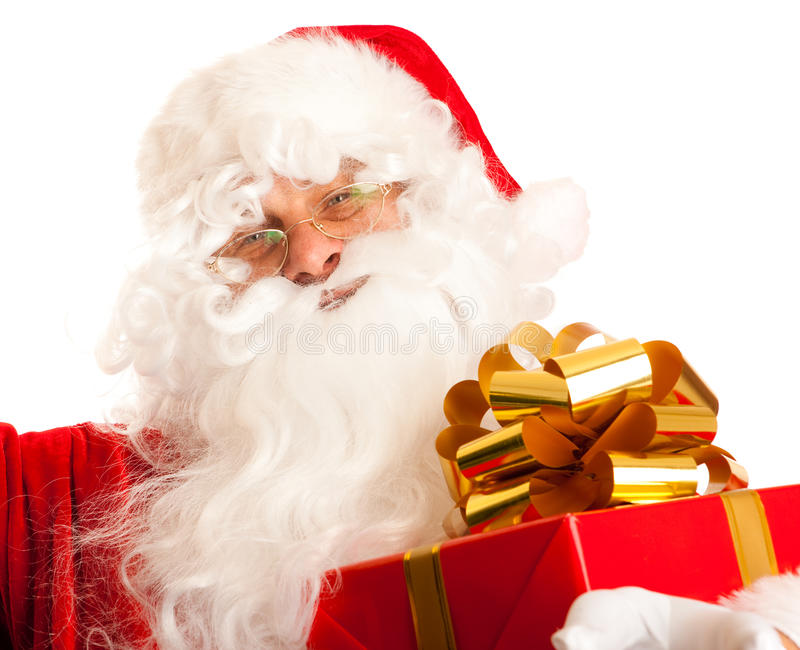 claus Santa obraz royalty free