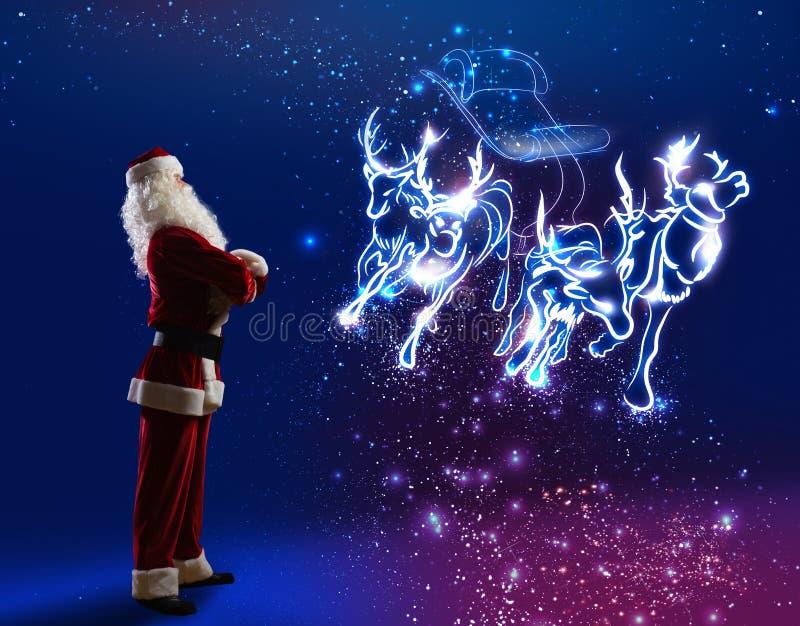 claus santa stock illustrationer