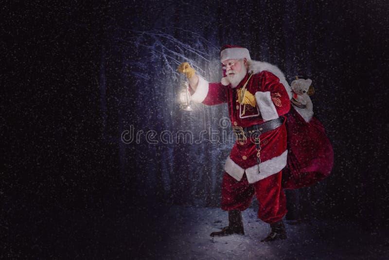 claus santa στοκ εικόνα με δικαίωμα ελεύθερης χρήσης