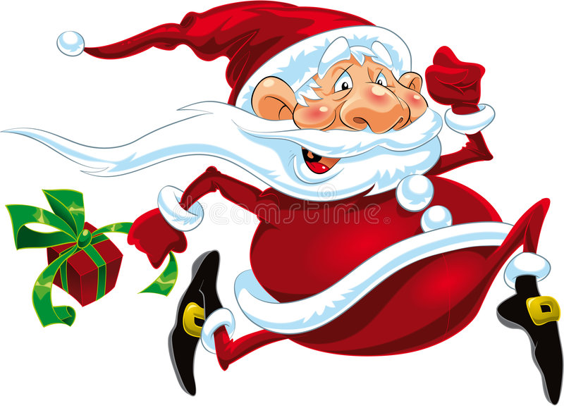 Claus Santa illustration libre de droits