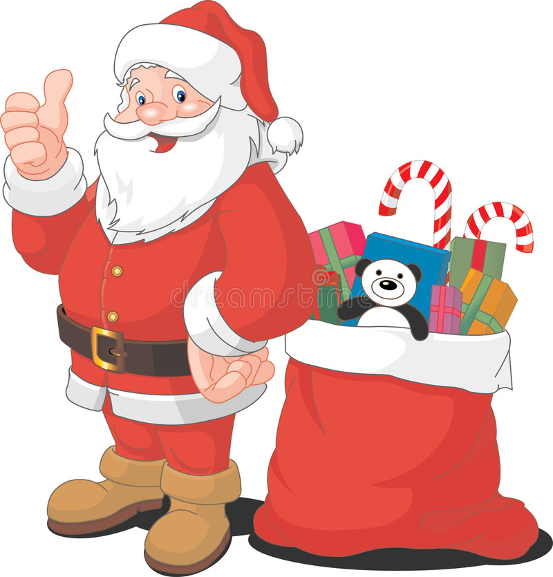 Claus Santa illustration stock