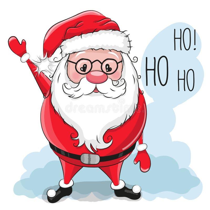 Claus Santa mignonne illustration libre de droits