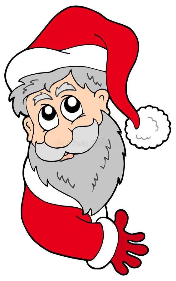 Download Claus target272_0_ Santa ilustracja wektor. Obraz złożonej z lurking - 11123195