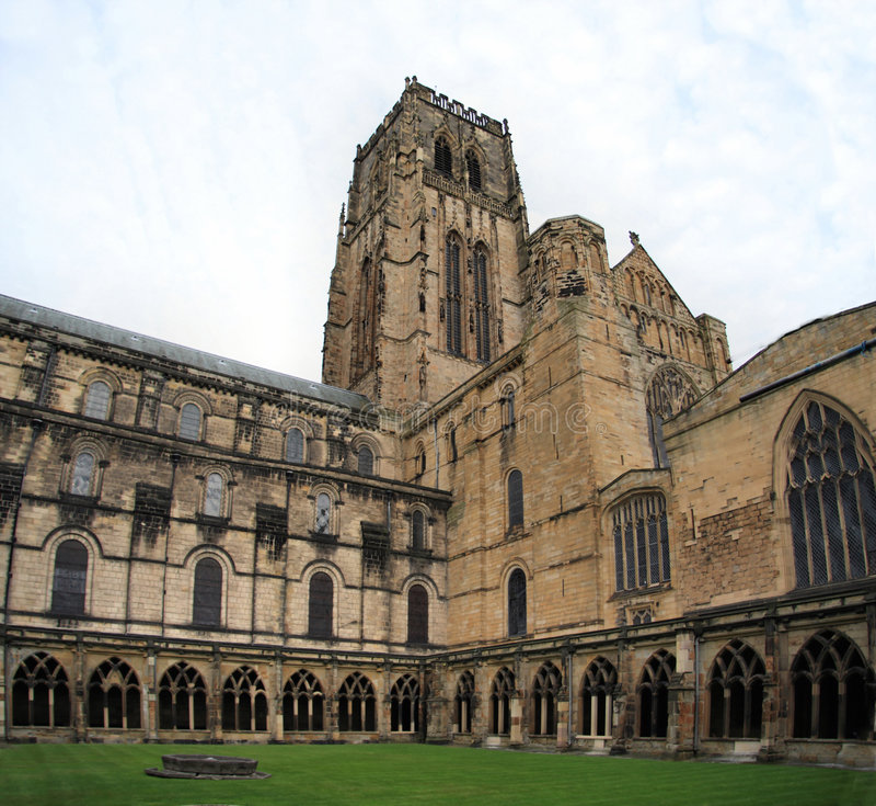 Claustro de Durham imagen de archivo