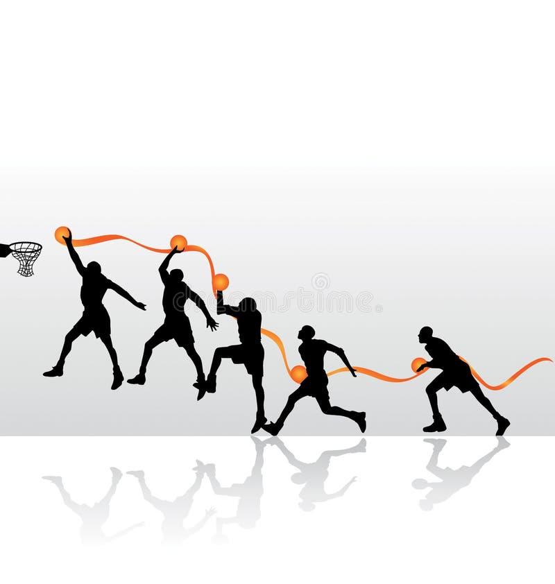 Clavada de golpe libre illustration