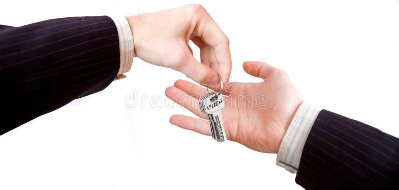 Clave al éxito. imagen de archivo libre de regalías