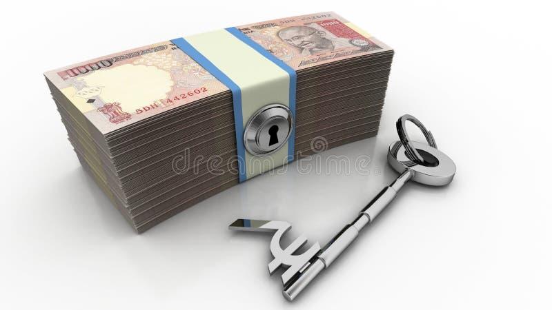 Clave al éxito financiero libre illustration