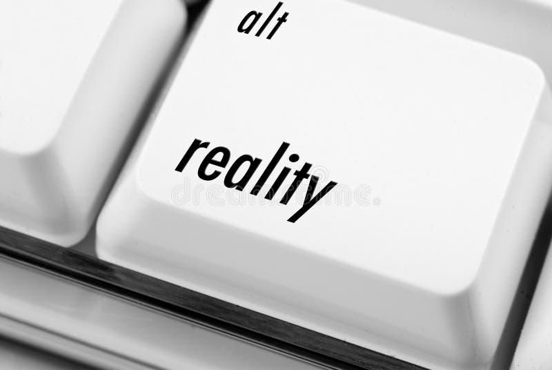 Clave de la realidad del Alt imágenes de archivo libres de regalías