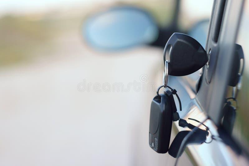 Clave del coche foto de archivo