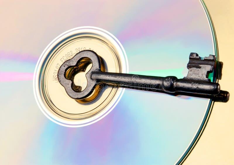 Clave del software imágenes de archivo libres de regalías