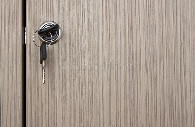 Clave en bloqueo imagen de archivo