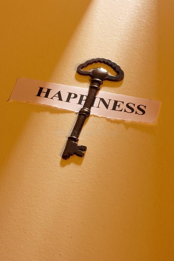 Clave a la felicidad foto de archivo libre de regalías