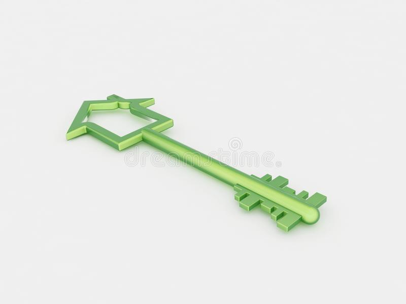 Clave verde libre illustration