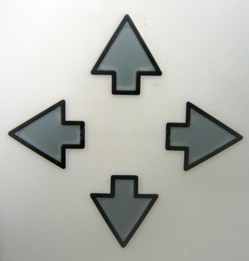 Claves De Flecha Foto de archivo libre de regalías