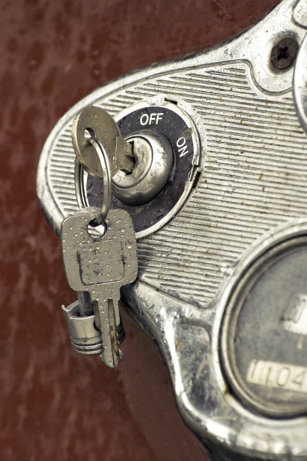 Claves de ignición imagen de archivo