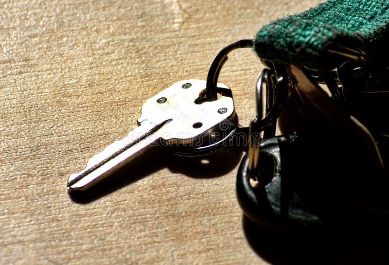 Claves de la casa fotografía de archivo