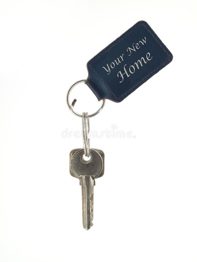 Claves de la puerta foto de archivo libre de regalías