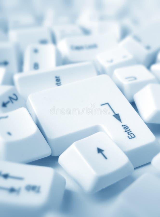 Claves de ordenador foto de archivo