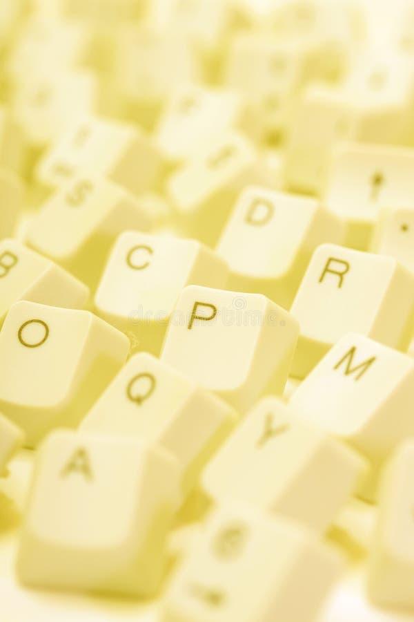 Claves de ordenador imagen de archivo libre de regalías