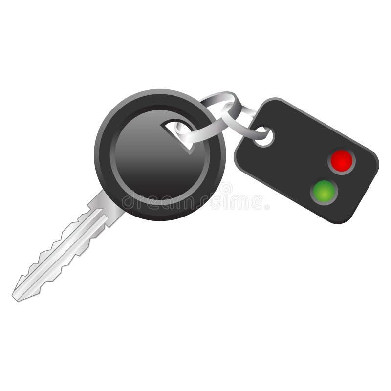Claves del coche ilustración del vector