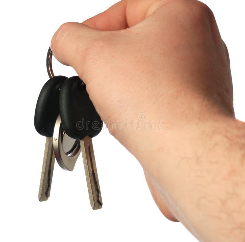 Claves del coche imagen de archivo